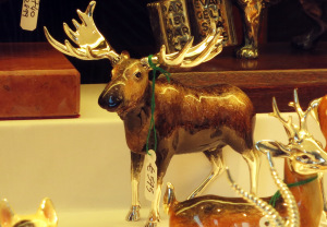 elch kunst glas