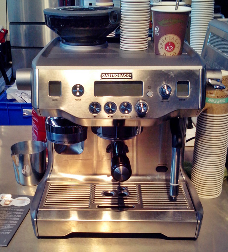 espressomaschine gastroback