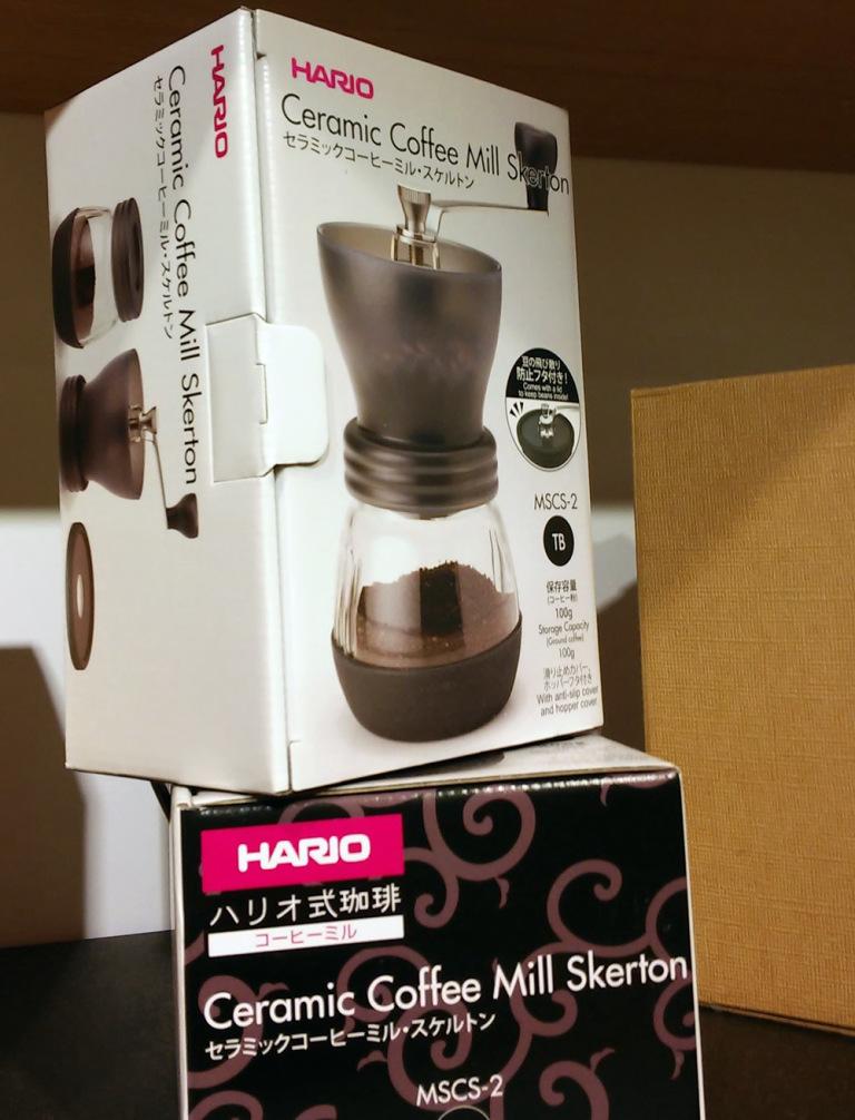 hario japanische kaffeemühle