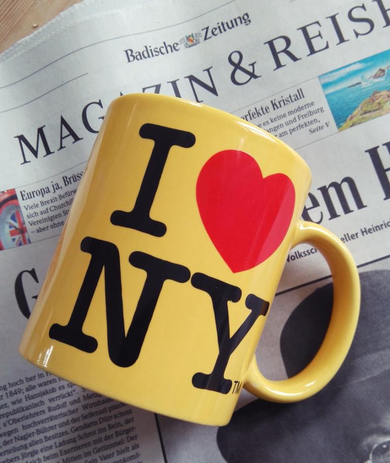 i love new york kaffeebecher