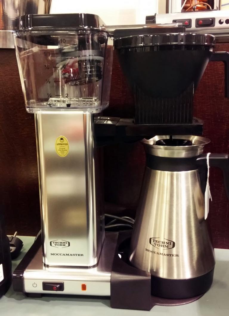 techni vorm moccamaster bester filterkaffee